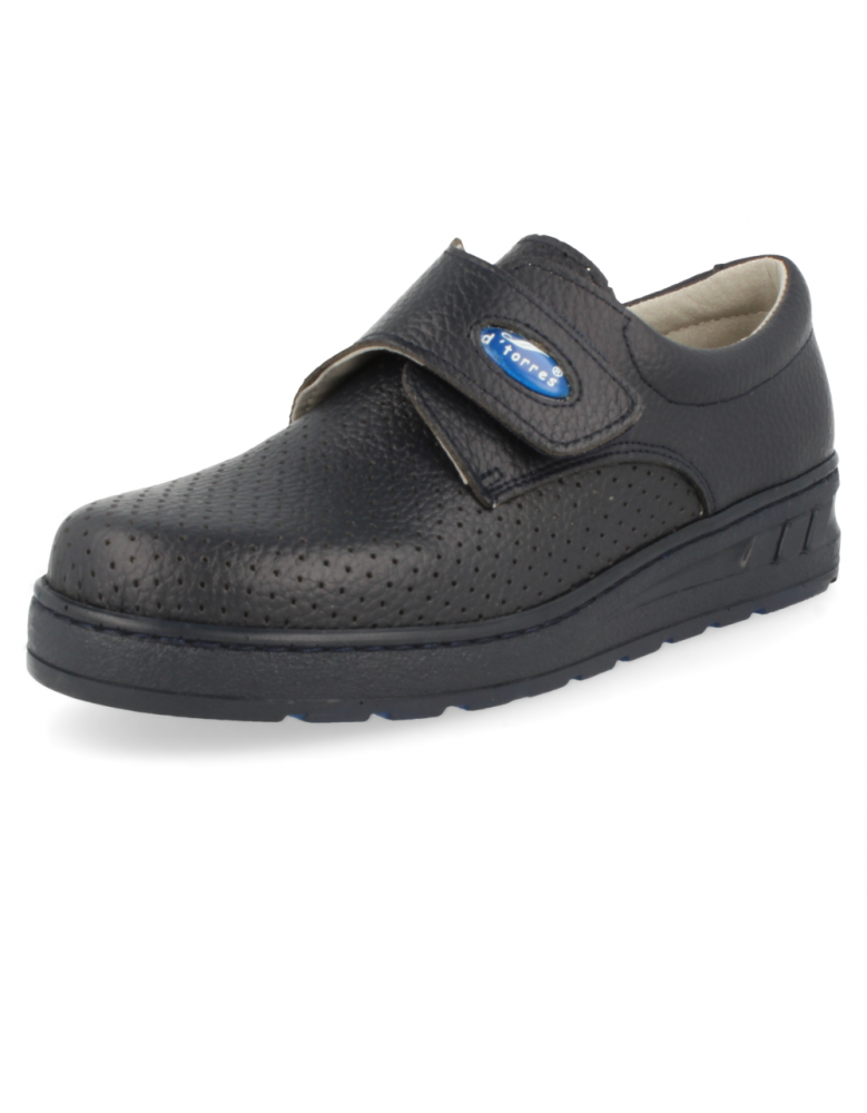 MEDIC VELCRO PERFORATED, 04 NAVY