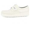 SANITARY COMFORT CLOGS, MEDIC VELCRO. PERFORATED 03 WHITE
