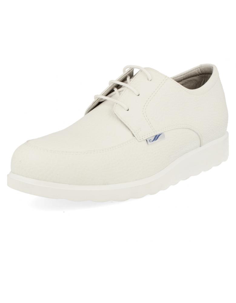 Serena blanco zapatos de trabajo muy c modos y anchas for Zapatos de trabajo blancos