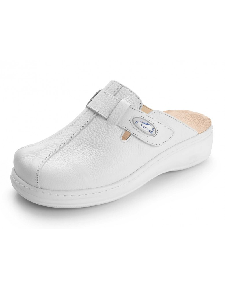 SANITARY COMFORT CLOGS, PLUS 03 WHITE