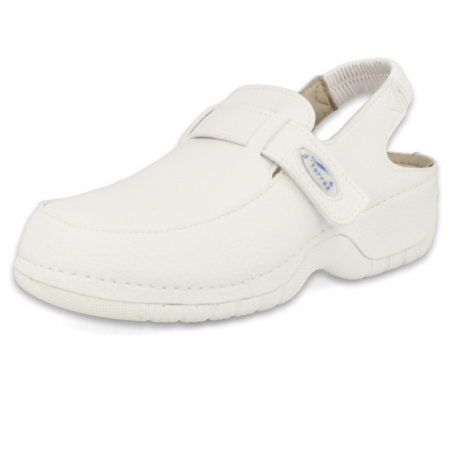 SANITARY COMFORT CLOGS, MASTER 2000 STRIP 03 WHITE