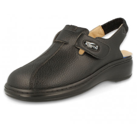 PROFESSIONAL COMFORT CLOGS, MASTER PLUS STRIP 01 BLACK