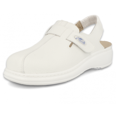 PROFESSIONAL CLOGS, MASTER PLUS STRIP 03 WHITE