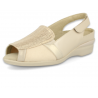 SENSITIVE FEET WOMEN SANDALS, ROCIO E9 BEIGE
