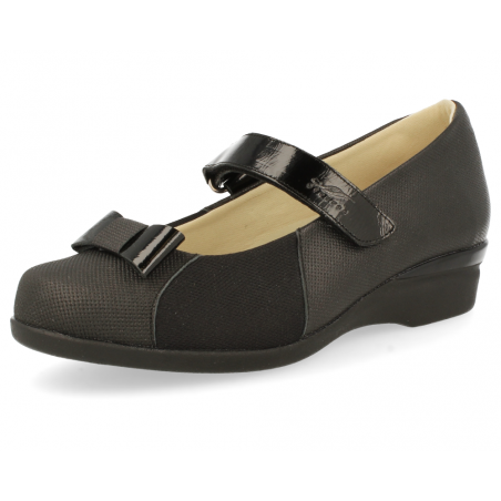 DELICATE FEET WOMEN SANDALS, ALMA D1 BLACK