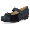 SENSITIVE FEET WOMEN SANDALS, D4 NAVY