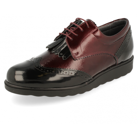 DELICATE FEET WOMEN SHOES, NIDIA 13 BURGUNDY