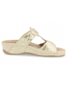 SENSITIVE WOMEN FEET SANDALS, DELIA 46 BEIGE