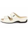 WOMEN SANDALS RECOMMENDED FOR DIABETICS, CALELLA 03 WHITE