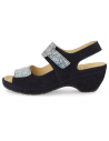 SENSITIVE FEET WOMEN SANDALS, LUZ 04 NAVY