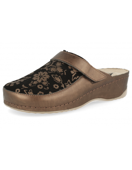 COMFORTABLE WOMEN SHOES, MASTER SOFT HOME BRONZE