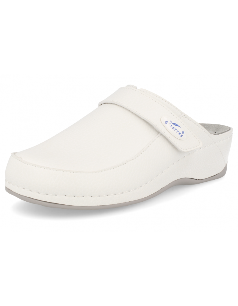 LADY COMFORT CLOGS, MASTER SOFT 03 WHITE