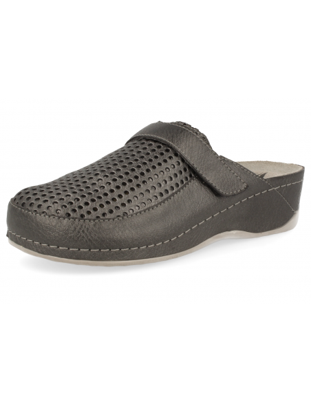 COMFORTABLE WOMEN CLOGS, MASTER SOFT LEAD COLOR