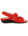 COMFORTABLE WOMEN'S SHOES, ALICE 10 RED