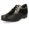 COMFORT WOMEN SHOES, GENEVE E2 BLACK SILVER